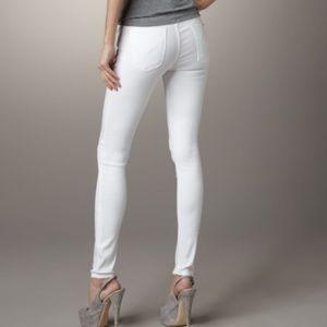 Original Hudson White Skinny Jean Sz 28